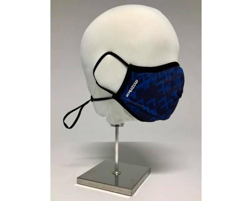 Трипластова защитна маска за многократна употреба ABSTRACT #BLUE