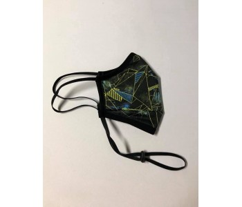 Трипластова защитна маска за многократна употреба GEOMETRIC