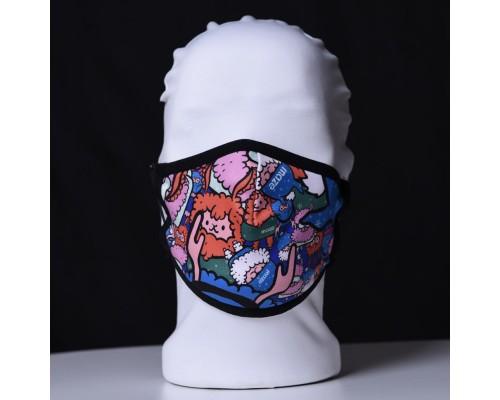 Детска трипластова защитна маска за многократна употреба SHEEPS