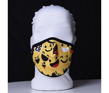 Детска трипластова защитна маска за многократна употреба SMILEY