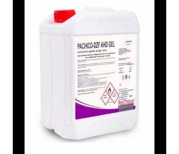 PACHICO Дезинфекциращ препарат за ръце и кожа AHD, гел, професионален, 5 L