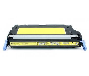 Съвместима тонер касета HP Q6472A TONER YELLOW (502A)