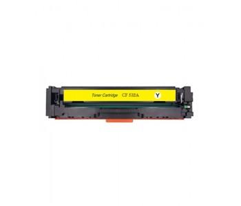 Съвместима тонер касета HP CF532A YELLOW